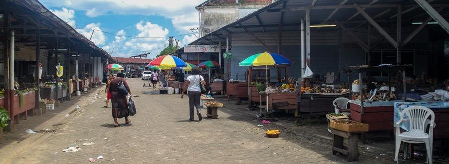 Shopping i Surinam