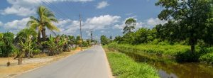 surinam transport panorama 300x110 - Water Canal Between Former Plantations In Suriname